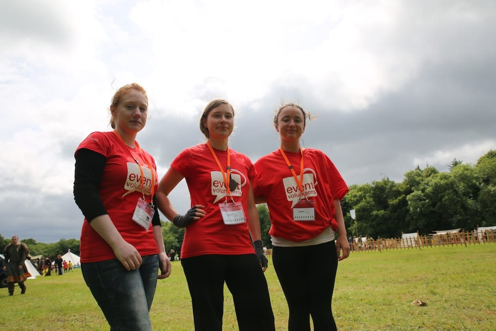 Meet a great team of people with Event Volunteers