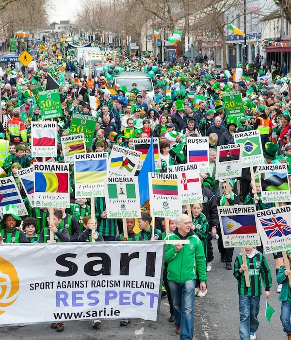 St. Patrick's Day Parade, Main Street, Swords