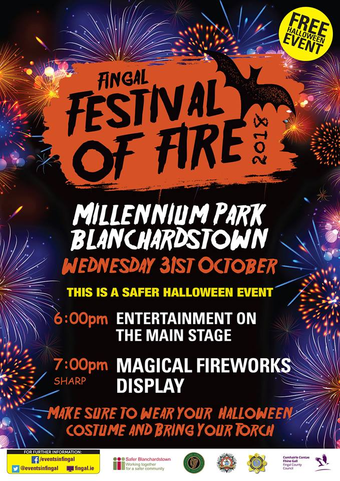 Fingal Festival of Fire 2018, Blanchardstown
