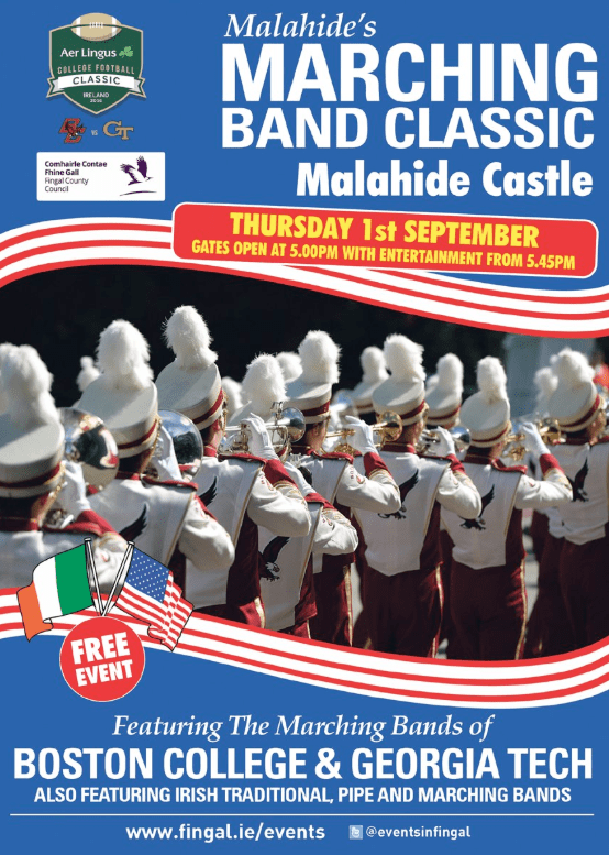 Malahide's Marching Band Classic
