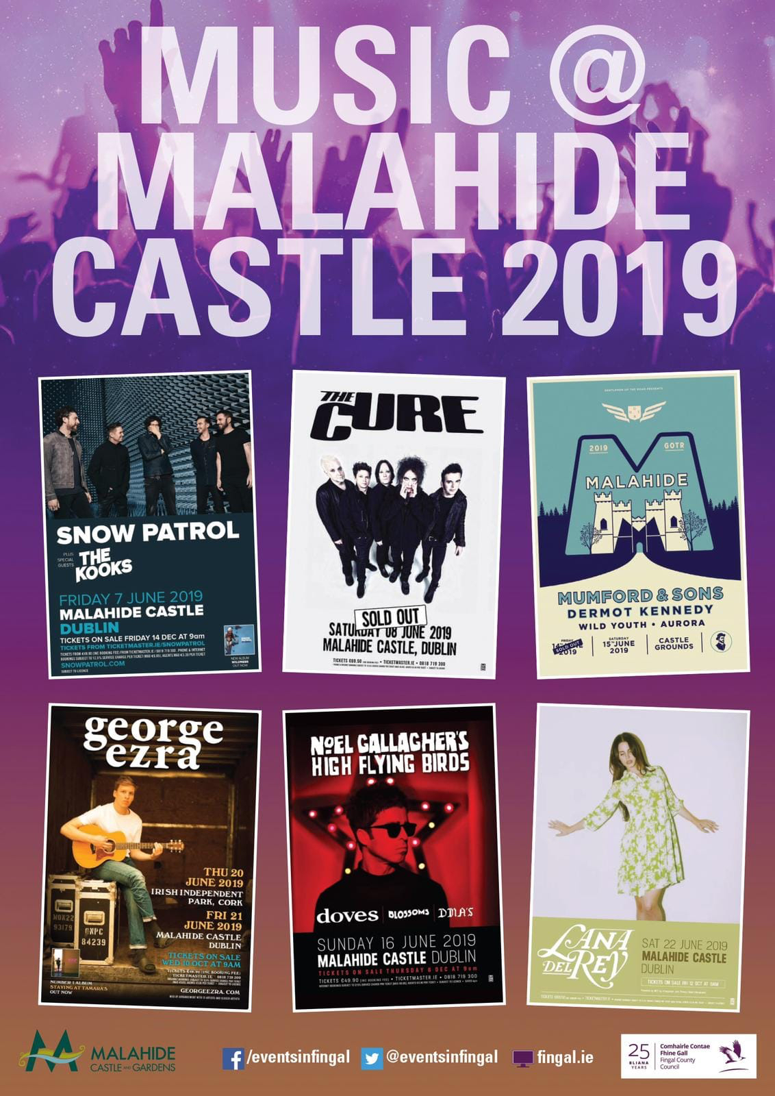 Event Volunteers at Malahide Concerts 2019