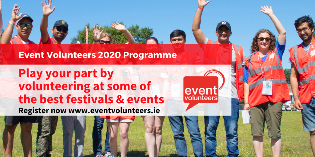 Volunteer at Festivals and Events in 2020